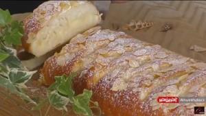 صفر تا صد تهیه نان نرم پودینگ دار