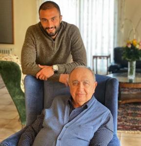 چهره ها/ تبریک ویژه امیر جدیدی برای تولد بهمن فرمان آرا