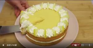 آموزش تهیه کیک لیمویی خوش عطر و خوشمزه