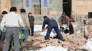 عملیات اصلاح صحن اصلی بقعه شیخ صفیالدین اردبیلی آغاز شد
