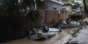 شدت بارش سیل آسا در برزیل