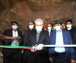 طرح احیای قنات جهانی زارچ یزد با حضور مونسان افتتاح شد