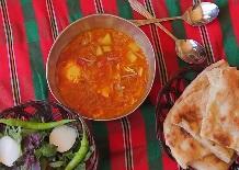 اشکنه اُوجز غذای محلی و اصیل خراسانی به روش سنتی مامان بزرگ ها