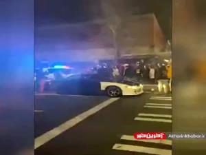 تصاویری از زیرگرفتن وحشیانه معترضین توسط پلیس آمریکا