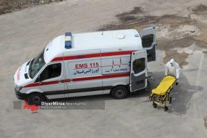 نجات دختر ۱۴ ساله توسط اورژانس گیلان