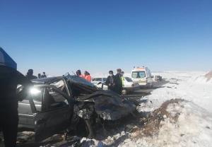 حادثه رانندگی در محور مراغه به هشترود با ۳ کشته