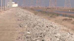 ماجرای سرقت ۱۰ کیلومتر از دیوار منطقه آزاد اروند