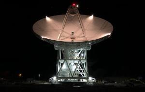 یک دیش غولپیکر تازه به شبکهی فضای دوردست ناسا اضافه شد