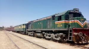 حرکت قطار زاهدان ـ کرمان از سرگرفته شد