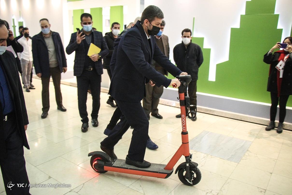 افتتاح دومین نمایشگاه شهر هوشمند ایران