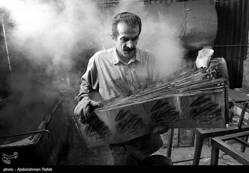 بازار آهن فروشان همدان