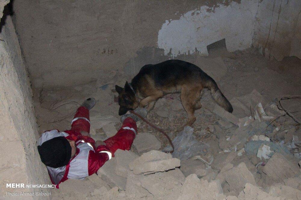 عکس/ مانور زلزله فرضی و اعلام لحظه صفر در استان سمنان