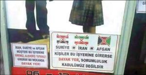 ماجرای بنر «ورود ایرانیها ممنوع» در ترکیه