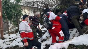 سقوط یک جوان از ارتفاعات ۳۰ متری سیاهمزگی شفت