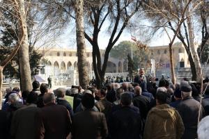 تجمع بازنشستگان تأمین اجتماعی مقابل استانداری اصفهان