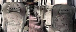 گرم کردن مسافران اتوبوس با کپسول گاز در مسیر سردشت -مهاباد