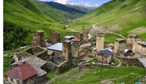 منطقه ای که به بام گرجستان معروف است