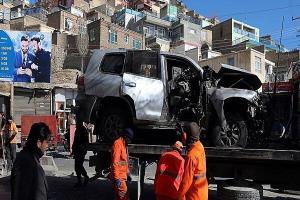 انفجار خودروی کارکنان سفارت ایتالیا در افغانستان