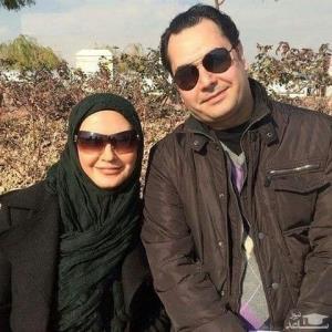 چهره ها/ لعیا زنگنه و همسرش در یک قاب