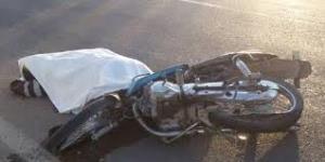 مرگ راکب موتورسیکلت در خیابان طالقانی اراک