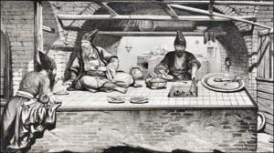 نخستین رستوران بیرون بر تاریخ ایران در تبریز