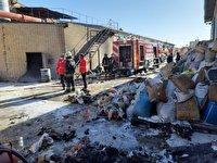 انفجار در واحد تولیدی موکت یزد