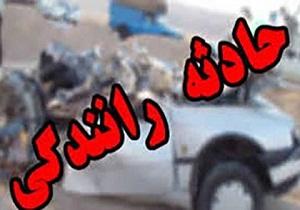 ۲ کشته و ۳ مصدوم در حادثه رانندگی در قزوین