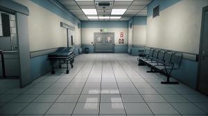 صحنه عجیب خزیدن بیمار در راهروی بیمارستان!