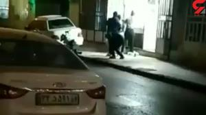 لحظه سرقت مسلحانه از یک طلافروشی در یزد