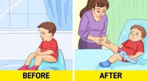 ۷ نقطه فشار برای رفع مشکلات جسمی نوزادان