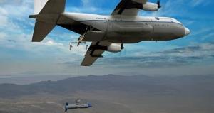 دارپا سومین آزمایش بازیابی هوایی پهپادهایش را با موفقیت انجام داد