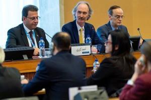 آغاز به کار پنجمین دور نشست بررسی قانون اساسی سوریه در ژنو