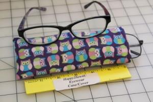 روش دوخت قاب عینک رنگارنگ با استفاده از روبان و پارچههای اضافی