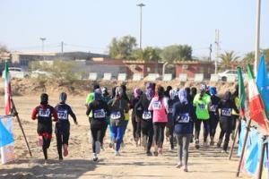 برگزاری رقابتهای دو صحرانوردی بانوان کشور در چابهار