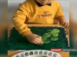 نقاشی کشیدن را برای کودک جذاب کنید