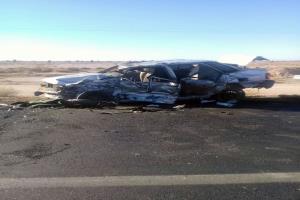 5 کُشته بر اثر برخورد ۲ دستگاه خودرو