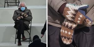افزایش تقاضا برای دستکش های برنی سندرز