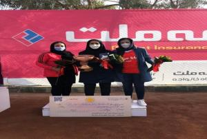 دختران تنیس باز آذربایجان شرقی مقام سوم مسابقات کشوری را به دست آوردند
