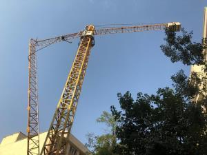 سقوط مرگبار کارگر ساختمانی از جرثقیل