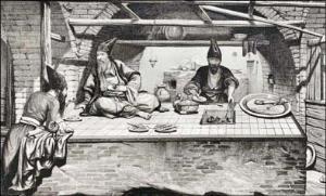 اولین رستوران بیرونبر در تاریخ ایران