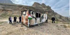 علت آتشسوزی کانکس معلمان دزفول؛ صاعقه یا نشت گاز؟