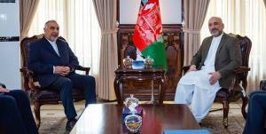 گفتوگوی نماینده ویژه ایران در امور افغانستان با حنیف اتمر