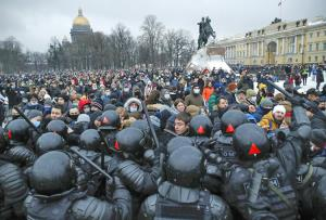واکنش پوتین به اعتراضات اخیر روسیه