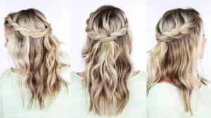 آموزش تل مو با بافت گره فوق العاده شیک و راحت