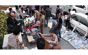قمه کشی در خیابان مطهری برای مامورین سد معبر