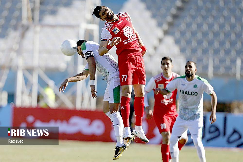عکس/ اولین شکست پرسپولیس در لیگ بیستم مقابل آلومینیوم اراک