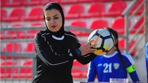 محرومیت داور زن فوتبال
