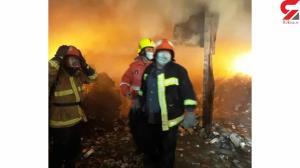 آتش سوزی هولناک در انبار داروهای قاچاق در دماوند