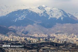 احتمال پاک شدن هوای پایتخت برای روز شنبه ۱۱ بهمن ماه