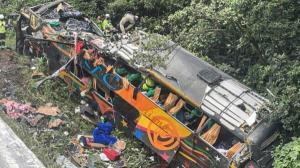 ۱۹ کشته در حادثه واژگونی اتوبوس مسافربری در برزیل